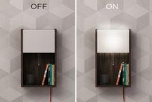 Shelves with Lighting