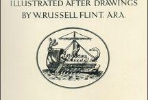 Homer's Odyssey - ill. William Russell Flint - 1924