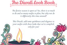 Diwali Look Book, 2016. / This Diwali, turn the spotlight on you with our selected  festive looks!