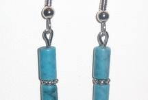 Jewelry / Handmade Jewelry / Earrings with natural gemstones