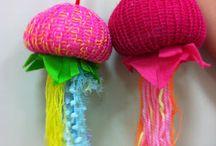 ateliers avec du fil / tricot, couture, broderie, tissage