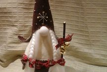 Christmas, gnomes, snowmans, angels...
