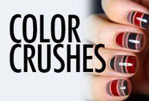 Nail Polish Color Swatches
