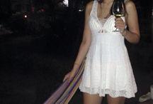 Vestido blanco en crochet