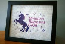Needlework Crafts - Cross Stitch / A collection of great cross stitches! / by Rebecca Greco