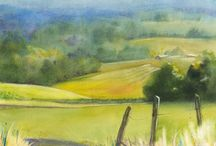Art - Watercolor - Durland