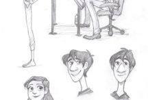• DRAWING TIPS • / Croquis, esquisses, dessins, rough, sketch, drawing.