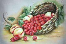 Bodegones y frutas(p tela)