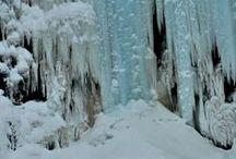 χιονισμένα τοπία