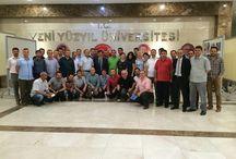 Yeni Yüzyıl Üniversitesi Yüksek Lisans / Yeni Yüzyıl Üniversite'si Yüksek Lisans Öğrenci Arkadaşlarımızla Veda Fotoğrafları