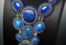 Синее голубое лазурное