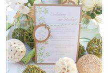 Einladungskarten zur Hochzeit / Ideen für Einladungskarten zur Hochzeit