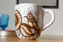 Magical mugs and illustrations / My mugs. Avaliable at http://hennaillu.storenvy.com inquires henna.katowice @gmail.com