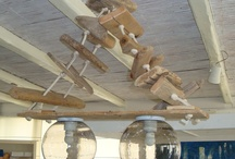 Lighting from driftwood by Chora Art Home Design / Handmade lightings from driftwood