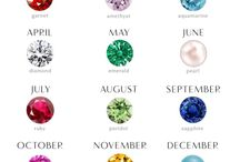Piedras De Nacimiento / La piedra de nacimiento es una piedra preciosa que se asocia con el mes del nacimiento de una persona y en nuestro último post hablamos de las piedras de cada mes: https://tendenciasjoyeria.com/tendencia-piedras-nacimiento/