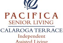 Pacifica Senior Living Calaroga Terrace / Pacifica Senior Living Calaroga Terrace offers a full spectrum of senior lifestyle services. We believe retirement living should be like a never-ending vacation – relaxing, carefree and filled with the things you love to do. Part of that luxurious retirement lifestyle is the warmth and comfort of your own apartment suite.