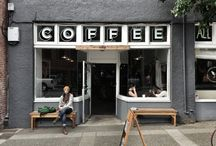 coffee, shops exterior
