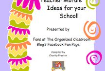School-Wide Ideas / Ideas and activities to get the entire school involved.