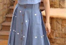 contoh dress Kasual