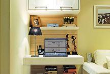 Escritório na sala