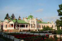 Колишній палац Хоєцьких в селі Томашівка, де зараз знаходиться чоловічий монастир