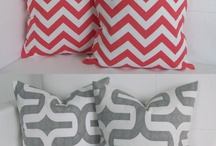 Throw pillows / Living room pillows