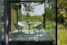 Inside Out / Indoors becomes outdoors as the living interior and exterior space merge to become one.