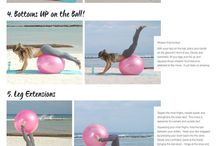 Cvičení s balónem