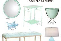 Domov v pastelových barvách / Pastel home