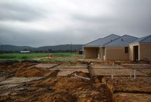 Site - earth works / Samples of site - earth works, footings, slab, thickening, brick build ups, retaining and anything site related to Western Australia residential building