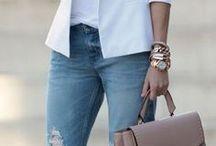 Jaqueta com jeans