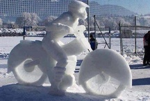 Snow sculptures / by Vicki Lyons Ponce