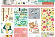 Children's trends and ideas / children's ideas and trends, mood boards, patterns, surface design, textile design