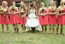 Brides in Cowboy Boots / Get inspiration for your country wedding with these real-life brides in cowboy boots! See more Great American Weddings here>> http://my.gactv.com/great-american-weddings/multigallery.esi.