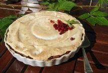 Puolukkajälkkäreitä / Lingonberry Desserts