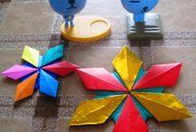 Etoiles origami tomoko fuse
