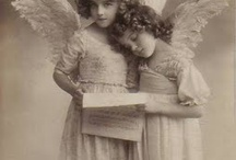 retro vintage photo & post cards