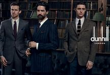 AW15 Campaign / Encapsulating a contemporary expression of British masculine elegance, dunhill's Autumn/Winter 2015 campaign evokes the perennial mood of the British gentlemen's club. Shot by Peter Lindbergh, the campaign demonstrates the collection on models who themselves capture the essence of the dunhill man. www.dunhill.com / by Alfred Dunhill