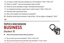 Business eng discussion topics