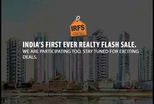 India's Realty Flash Sale / Indian's first ever Realty Flash Sale. Don't miss the opportunity. Register to get massive benefits.