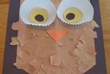 Kid crafts / by Stephanie Nickson Jenkins