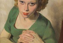 arte - Sir Herbert James Gunn (1893-1964) / arte - pittore inglese