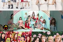 Girl Grup Terpopuler di Korea Bulan April