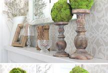 Spring Decor & Recipes / Spring decor ideas and inspiration.   #homedecor #DIY #home #interiordesign #decor #rustic #farmhouse #fixerupper #spring #recipe