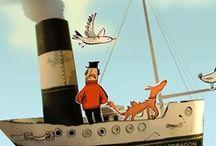 Adam Larkum  / Illustrations by commercial Children, Character Designing, Ealing Comedy Animation illustrator Adam Larkum represented by leading international agency www.illustrationweb.com