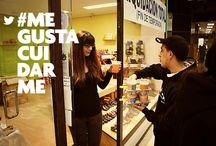 #VitaminShock a la conquista de #Zamora / Campaña realizada el pasado 28 de marzo por las calles y el comercio de #Zamora #MeGustaCuidarme www.valencianashock.com