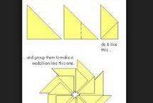 Teabag folds / Various easy to follow teabag folding techniques