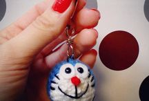 doraemon key chain