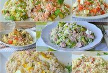 ricette per insalate di riso