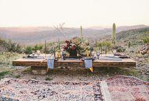 desert beauty / Desert wedding inspiration